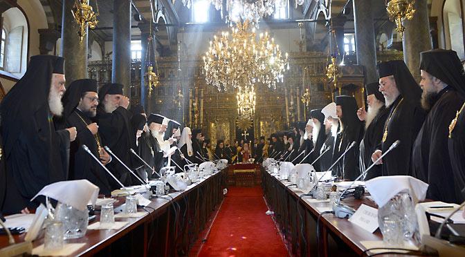 Вселенский Собор, свобода, равенство и братство