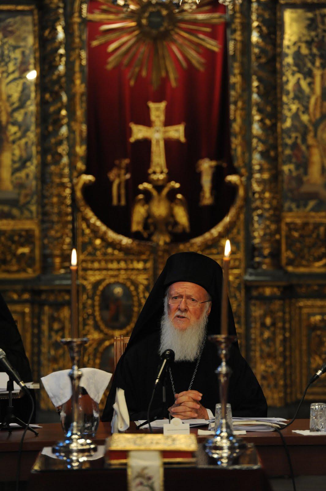 Совещание «нео-пентархии». Стамбул, 1-2 сентября 2011 г. Патриарх Варфоломей