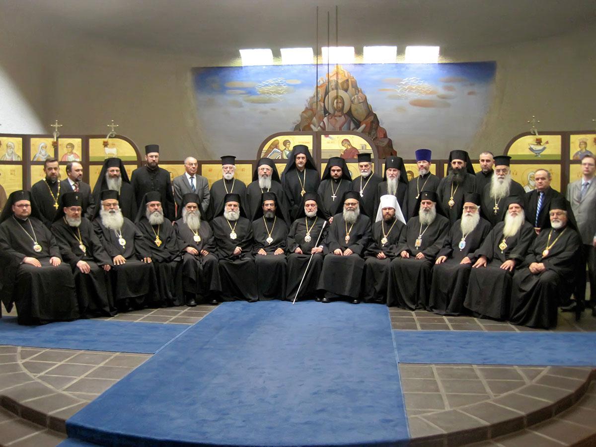 Заседание Межправославной комиссии по подготовке Святого и Великого Собора 22-26 февраля 2011 г. в Шамбези.