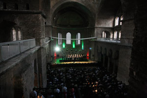 Концерте музыки митр. Илариона (Алфеева). Храм Святой Ирины, 2009 г.