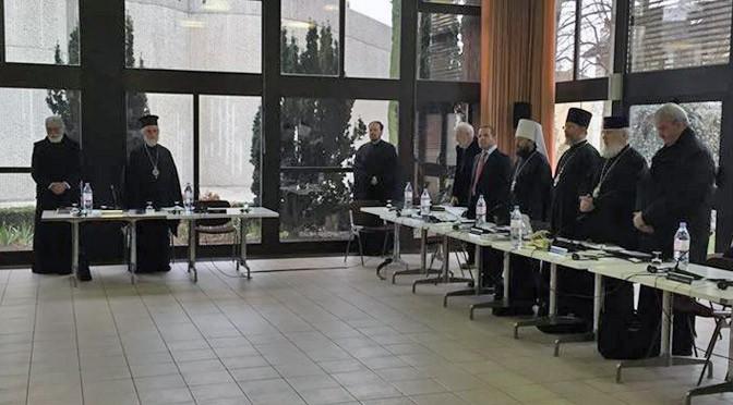 Заседание Специальной межправославной комиссии