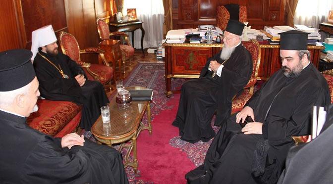 Патриарх Варфоломей и митр. Иларион о Восьмом Соборе