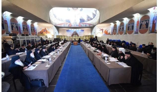 В Шамбези проходит Собрание Предстоятелей