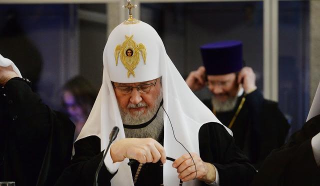 Патриарх Московский Кирилл выступил со словом на Собрании